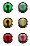 sémaphore Image libre de droits