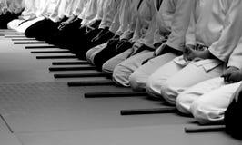 Séminaire d'Aikido Photos stock