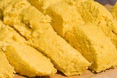 Sémola de maíz Imagen de archivo