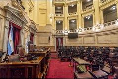 Sénat argentin au congrès national de l'Argentine - Buenos Aires, Argentine photo libre de droits