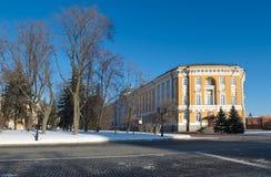 Sénat de Kremlin à Moscou Photographie stock libre de droits