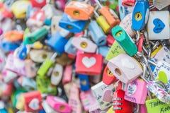 SÉOUL, CORÉE DU SUD - 29 octobre : La cérémonie de clé d'amour à N Seo Photo libre de droits