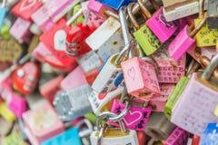 SÉOUL, CORÉE DU SUD - 29 octobre : La cérémonie de clé d'amour à N Seo Photo stock