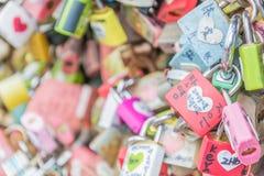 SÉOUL, CORÉE DU SUD - 29 octobre : La cérémonie de clé d'amour à N Seo Photos libres de droits