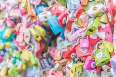 SÉOUL, CORÉE DU SUD - 29 octobre : La cérémonie de clé d'amour à N Seo Image stock