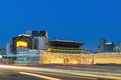 Séoul Corée du Sud, porte de Namdaemun image libre de droits