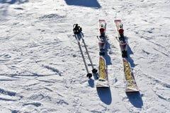 Séoul, CORÉE - 28 janvier 2017 : Ski sur la neige Photos stock