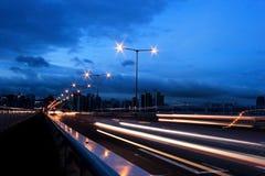 Séoul la nuit Photo libre de droits