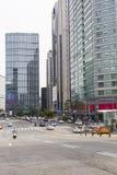 SÉOUL - 21 OCTOBRE 2016 : Centre de la ville de Séoul, Corée du Sud, esprit Photo libre de droits