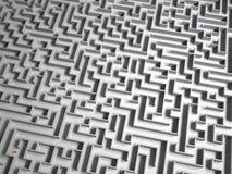 Séparé dans le labyrinthe Photo libre de droits