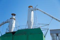 Séparateur de séparation de vortex d'air de cyclone de purification de la poussière Image libre de droits