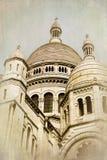 Sépia de Sacre Coeur Photos stock
