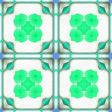 Sépia Magnoli de fractale de batik Photographie stock libre de droits