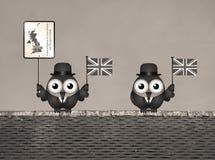 Sépia Royaume-Uni Images libres de droits