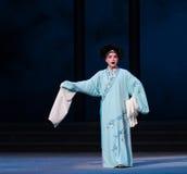 """Séptima desintegración sola- del acto del  blanco de Opera""""Madame Snake†de las familias-Kunqu Imagenes de archivo"""
