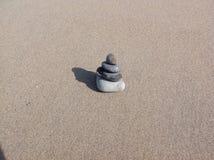 Sérénité à la plage de Deveraux Photographie stock libre de droits