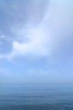 Sérénité bleue Photo libre de droits