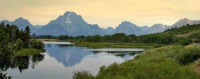 Sérénité de Teton Photographie stock libre de droits