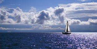 Sérénité en mer Photo libre de droits