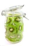 Série 01 d'enzymes de kiwi Photographie stock