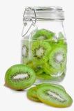 Série 01 d'enzymes de kiwi Image libre de droits