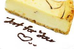 Série 01 do bolo de queijo Imagens de Stock