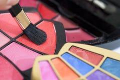 Série 02 dos cosméticos das mulheres Fotografia de Stock
