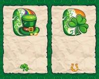 Série 1 do papel do dia do St. Patrick Imagem de Stock Royalty Free