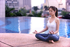 Série 2 de méditation photos libres de droits