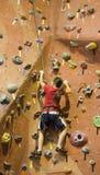 Série A 22 da escalada de rocha Fotografia de Stock