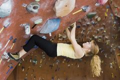Série A 37 da escalada de rocha de Khole Imagem de Stock