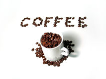Série 4 de café Photos stock