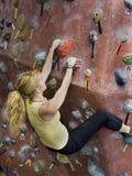 Série A 43 da escalada de rocha de Khole Fotografia de Stock