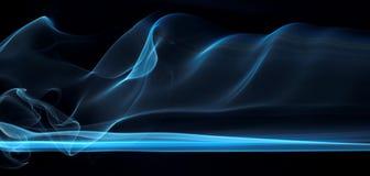 Série abstraite 19 de fumée Photos stock