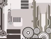 Série abstraite de fond illustration de vecteur