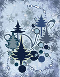 Série abstraite de l'hiver Photo stock