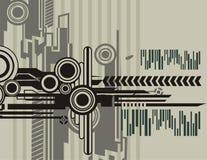 Série abstrata do fundo ilustração stock