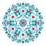 Série artística doze do teste padrão do otomano Imagens de Stock Royalty Free