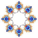 Série artística quarenta e nove do teste padrão do otomano Foto de Stock Royalty Free