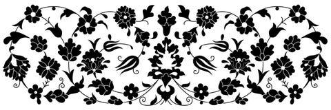 Série artística quarenta uma do teste padrão do otomano Imagens de Stock Royalty Free