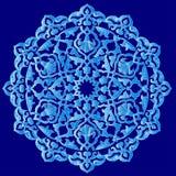 Série artistique bleue quatre-vingt-dix une de modèle de tabouret Image libre de droits
