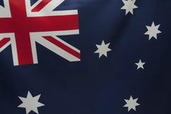 A série australiana da bandeira Imagem de Stock