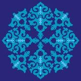 A série azul do otomano modela vinte e seis Imagens de Stock