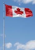 Série canadense da bandeira imagens de stock