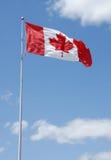 Série canadense da bandeira Fotografia de Stock