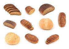 Série cortada do pão Foto de Stock Royalty Free