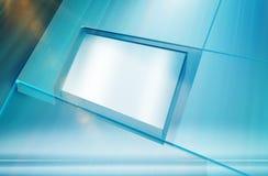 Série cubique plate de concept de boîte d'écran Photos libres de droits