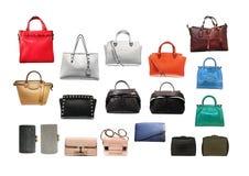 Série d'accessoires de mode du ` s de femmes photographie stock