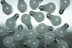 Série d'ampoules Images stock