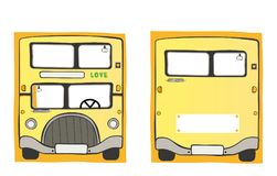Série d'autobus scolaire - 1 Illustration de Vecteur